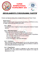 Regolamento e programma 10th years