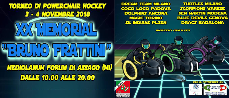 "XX Memorial ""Bruno Frattini"""
